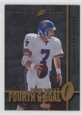 1997 Pinnacle Inside - Fourth & Goal #F9 - John Elway