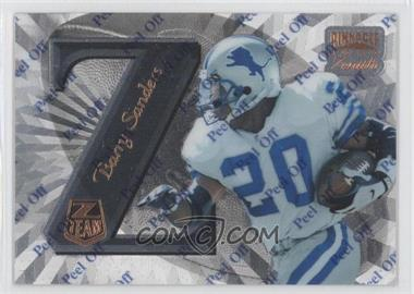 1997 Pinnacle Zenith Z-Team #ZT14 - Barry Sanders