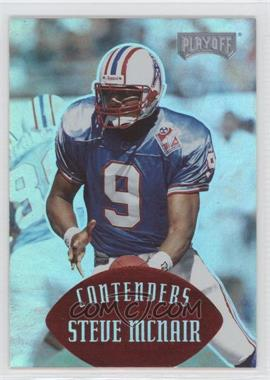 1997 Playoff Contenders - [Base] - Red #143 - Steve McNair /25