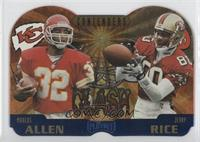 Marcus Allen, Jerry Rice