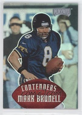 1997 Playoff Contenders Red #63 - Mark Brunell /25