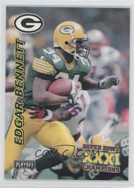 1997 Playoff Green Bay Packers Super Sunday - Box Set [Base] #13 - Edgar Bennett