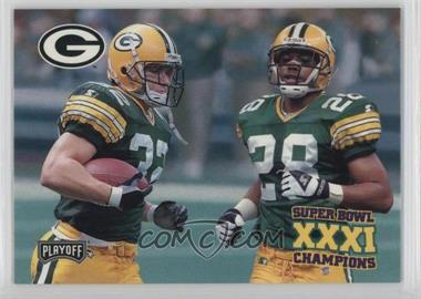 1997 Playoff Green Bay Packers Super Sunday - Box Set [Base] #39 - Travis Jervey, Roderick Mullen