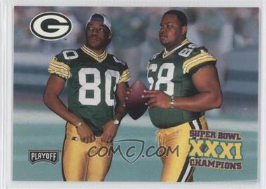 1997 Playoff Green Bay Packers Super Sunday Box Set [Base] #36 - Gary Brown, Derrick Mayes, Gary L. Brown