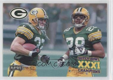 1997 Playoff Green Bay Packers Super Sunday Box Set [Base] #39 - Travis Jervey, Roderick Mullen