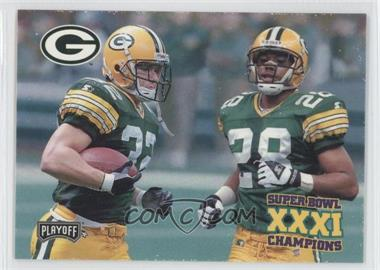1997 Playoff Green Bay Packers Super Sunday Box Set [Base] #39 - Travis Jervey, Roderick Mullen
