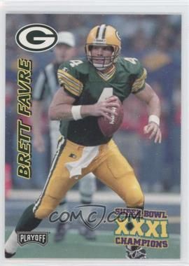 1997 Playoff Green Bay Packers Super Sunday Box Set [Base] #7 - Brett Favre