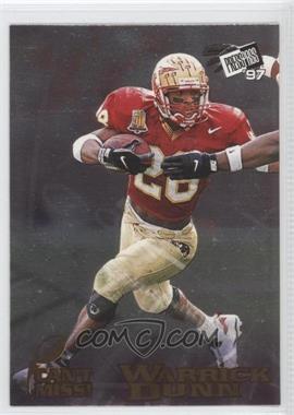1997 Press Pass - Can't Miss! #cm 1 - Warrick Dunn