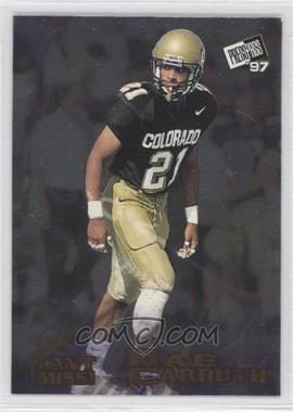 1997 Press Pass - Can't Miss! #cm 5 - Rae Carruth