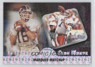 1997 Press Pass - Marquee Matchup #MM 1 - Jim Druckenmiller, Danny Wuerffel