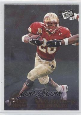 1997 Press Pass [???] #CM1 - Warrick Dunn
