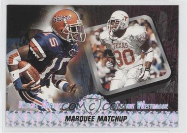 1997 Press Pass Marquee Matchup #MM 5 - Bryant Westbrook, Reidel Anthony