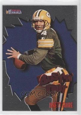 1997 Pro Line II Memorabilia - Bustin' Out - Extreme Gold #B8 - Brett Favre
