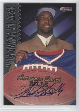 1997 Pro Line II Memorabilia - Rookie Autographs #ANSM - Antowain Smith