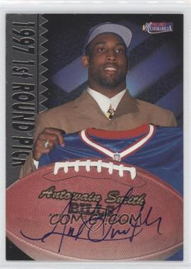 1997 Pro Line II Memorabilia [???] #24 - Antowain Smith