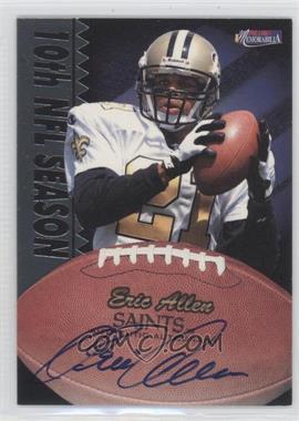 1997 Pro Line II Memorabilia Autographs #NoN - Eric Allen