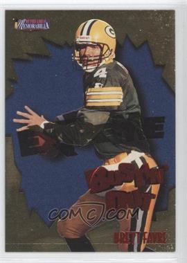 1997 Pro Line II Memorabilia Bustin' Out Extreme Gold #B8 - Brett Favre