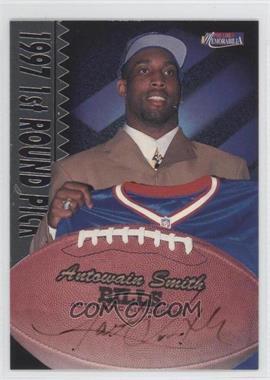 1997 Pro Line II Memorabilia Rookie Autographs #24 - Antowain Smith