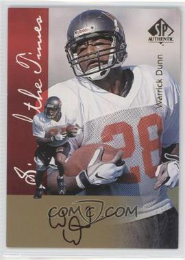 1997 SP Authentic - Sign of the Times #WADU - Warrick Dunn