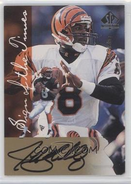 1997 SP Authentic [???] #N/A - Jeff Blake