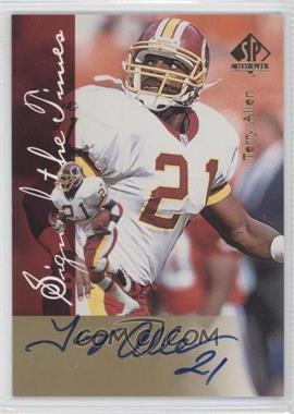 1997 SP Authentic [???] #N/A - Terry Allen