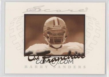 1997 Score - The Franchise #2 - Barry Sanders