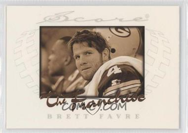 1997 Score - The Franchise #3 - Brett Favre