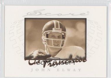 1997 Score - The Franchise #8 - John Elway