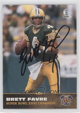 1997 Score Board Brett Favre Super Bowl XXXI Autographs #N/A - Brett Favre