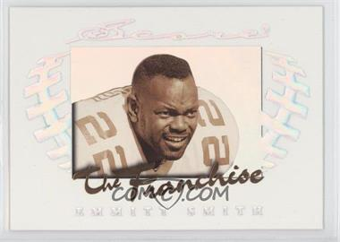 1997 Score The Franchise Holofoil #1 - Emmitt Smith