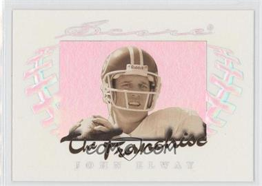 1997 Score The Franchise Holofoil #8 - John Elway