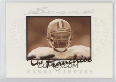 1997 Score The Franchise #2 - Barry Sanders