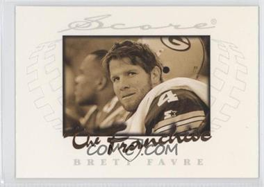 1997 Score The Franchise #3 - Brett Favre