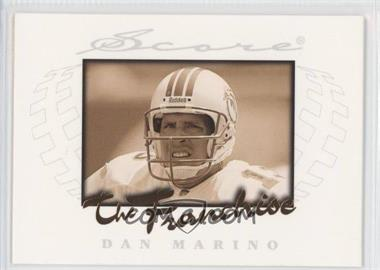 1997 Score The Franchise #7 - Dan Marino