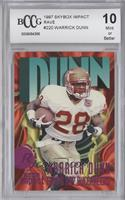 Warrick Dunn /150 [ENCASED]