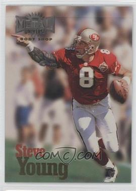 1997 Skybox Metal Universe - Body Shop #2 - Steve Young
