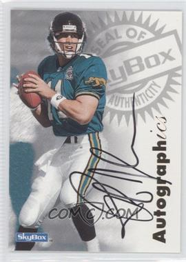 1997 Skybox Premium Autographics #N/A - Rob Johnson