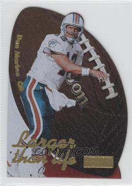 1997 Skybox Premium Larger than Life #4 LL - Dan Marino