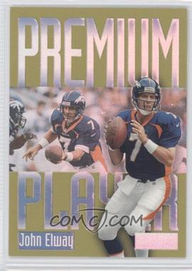 1997 Skybox Premium Premium Players #15 PP - John Elway