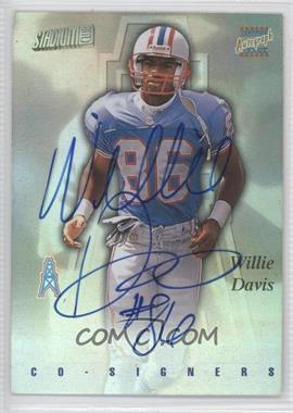 1997 Stadium Club Co-Signers #CO81 - Willie Davis, Lake Dawson, Willie Davis
