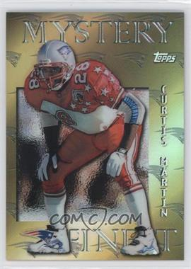 1997 Topps - Mystery Finest - Gold Refractor #M18 - Curtis Martin