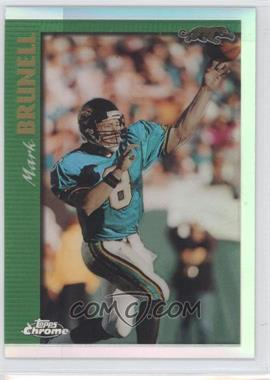 1997 Topps Chrome - [Base] - Refractor #R106 - Mark Brunell