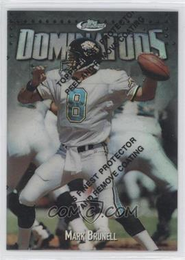 1997 Topps Finest Refractor #315 - Mark Brunell