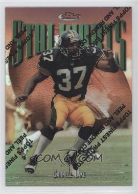 1997 Topps Finest Refractor #N/A - Carnell Lake