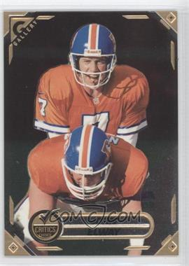 1997 Topps Gallery Critics Choice #CC5 - John Elway