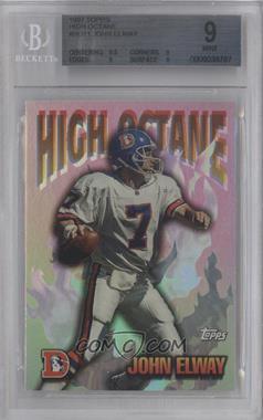 1997 Topps High Octane #HO-11 - John Elway [BGS9]