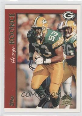 1997 Topps Minted in Canton #196 - George Koonce