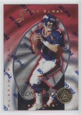 1997 Totally Certified Platinum Red #10 - John Elway /4999