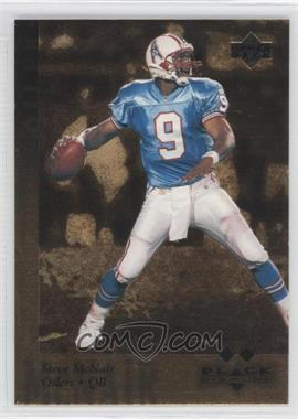 1997 Upper Deck Black Diamond - [Base] - Gold #141 - Steve McNair