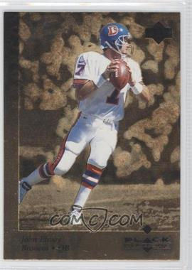 1997 Upper Deck Black Diamond Gold #43 - John Elway